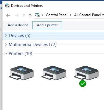 cara install network printer