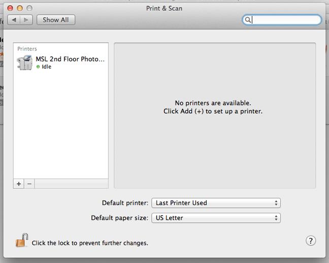 Cara Install Printer Jaringan di MacOS